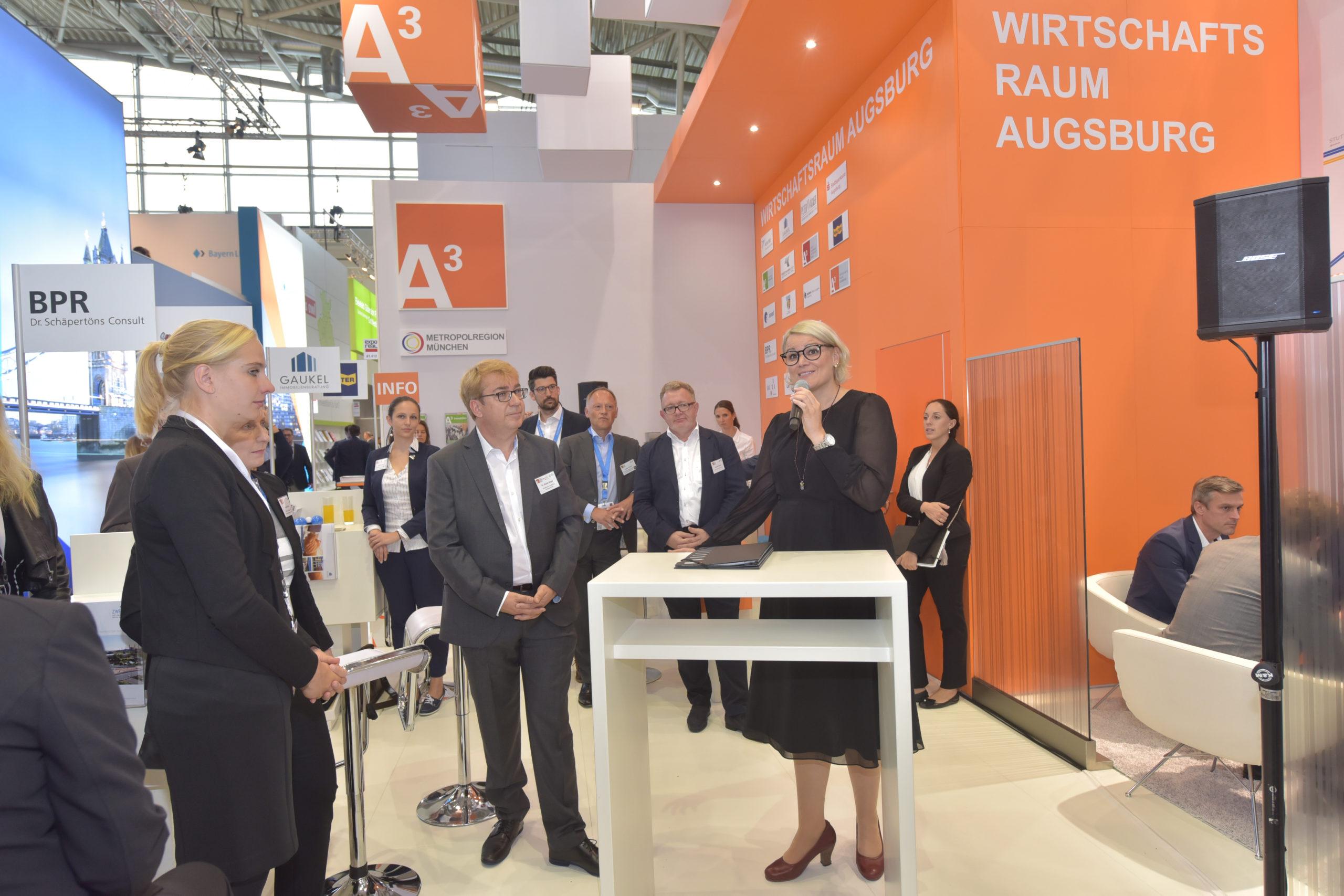 Expo Real 2018: Grußwort Eva Weber