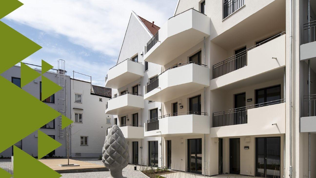 Wohnprojekt von KLAUS Wohnbau/Titelbild Marktreport 2020