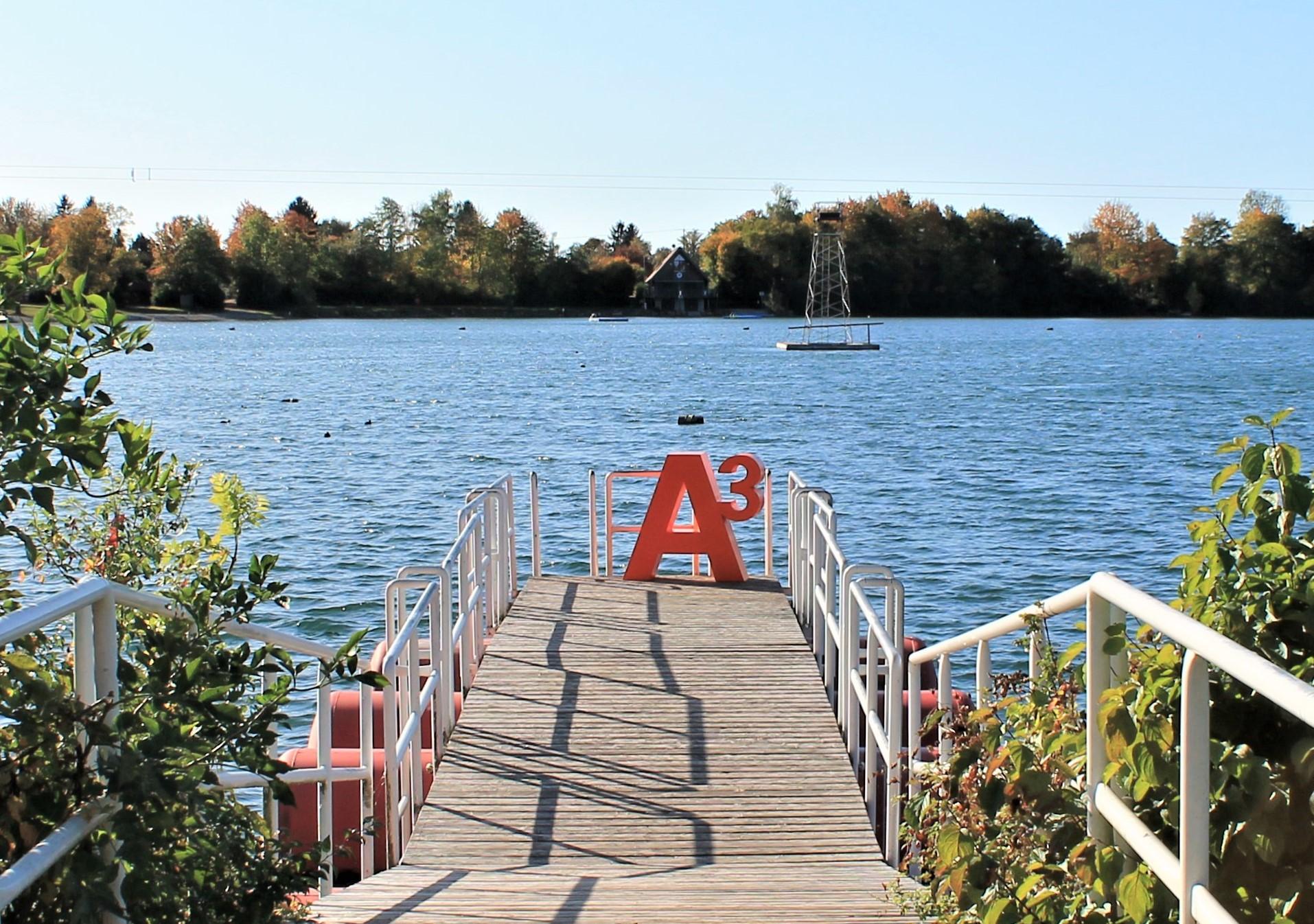 A³ auf Wanderschaft am Friedberger Baggersee