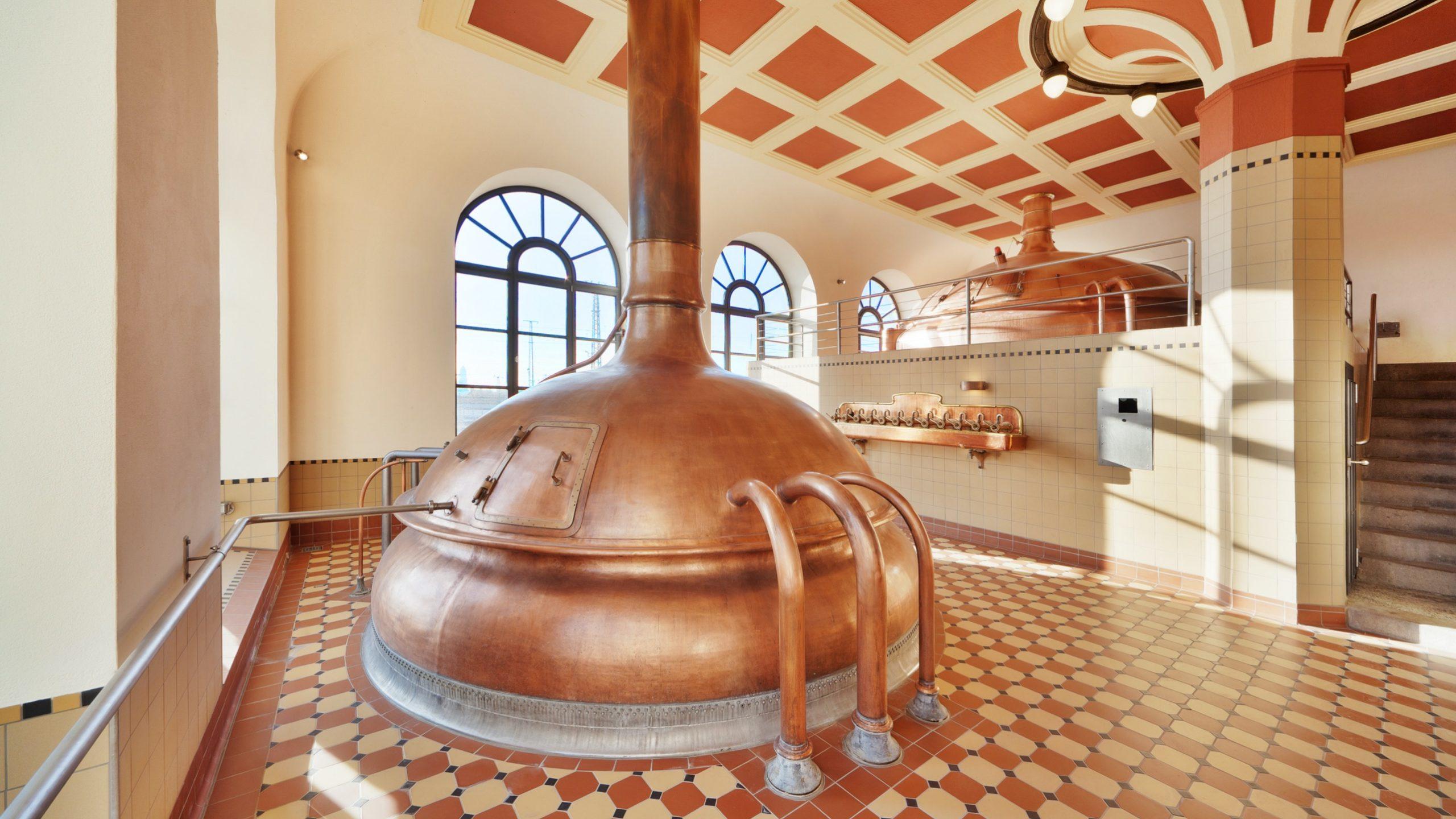 Das Sudhaus der Brauerei Riegele