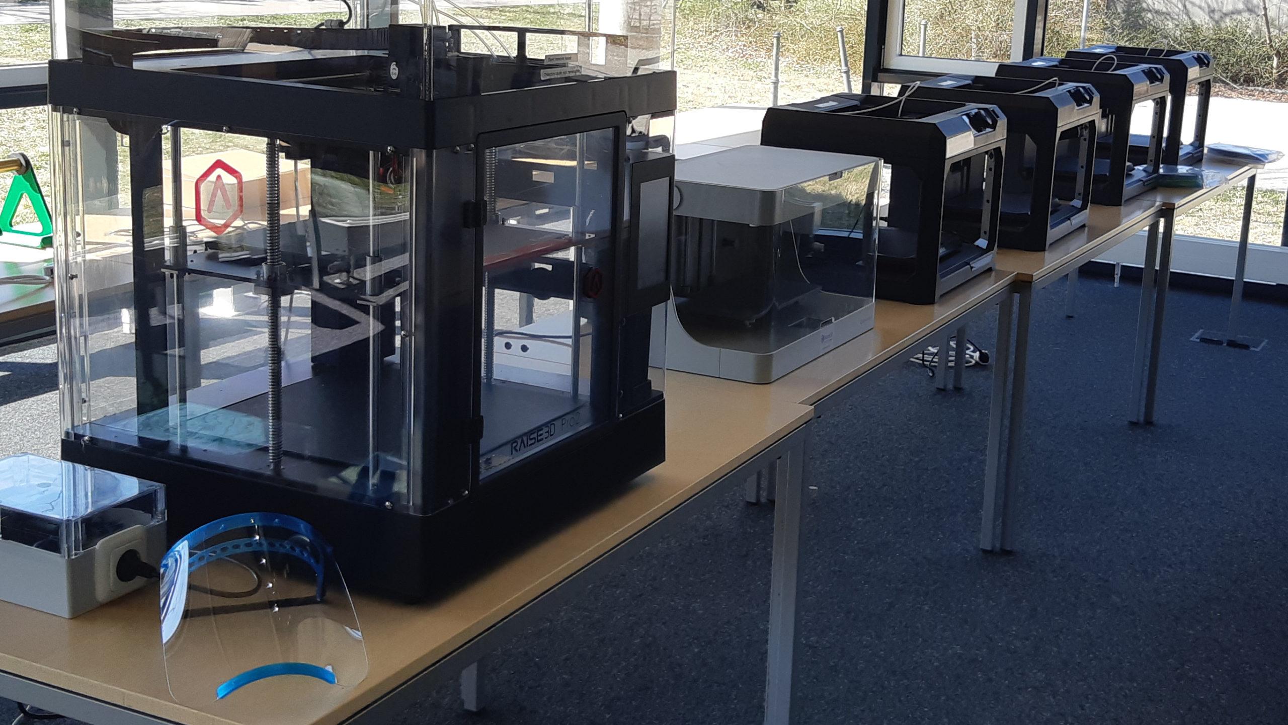 3D-Drucker an der Universität Augsburg