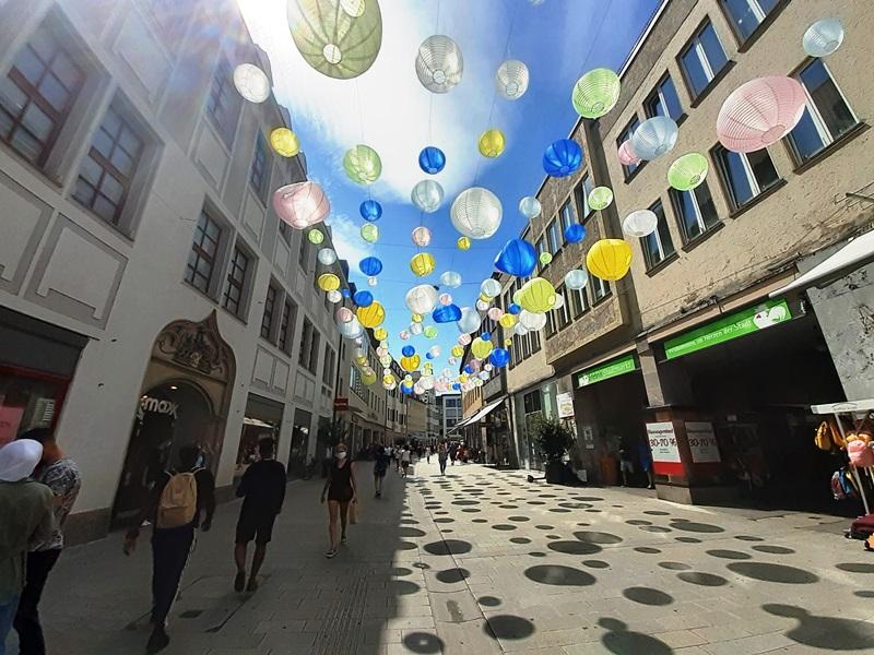 Bild der Annastraße in Augsburg