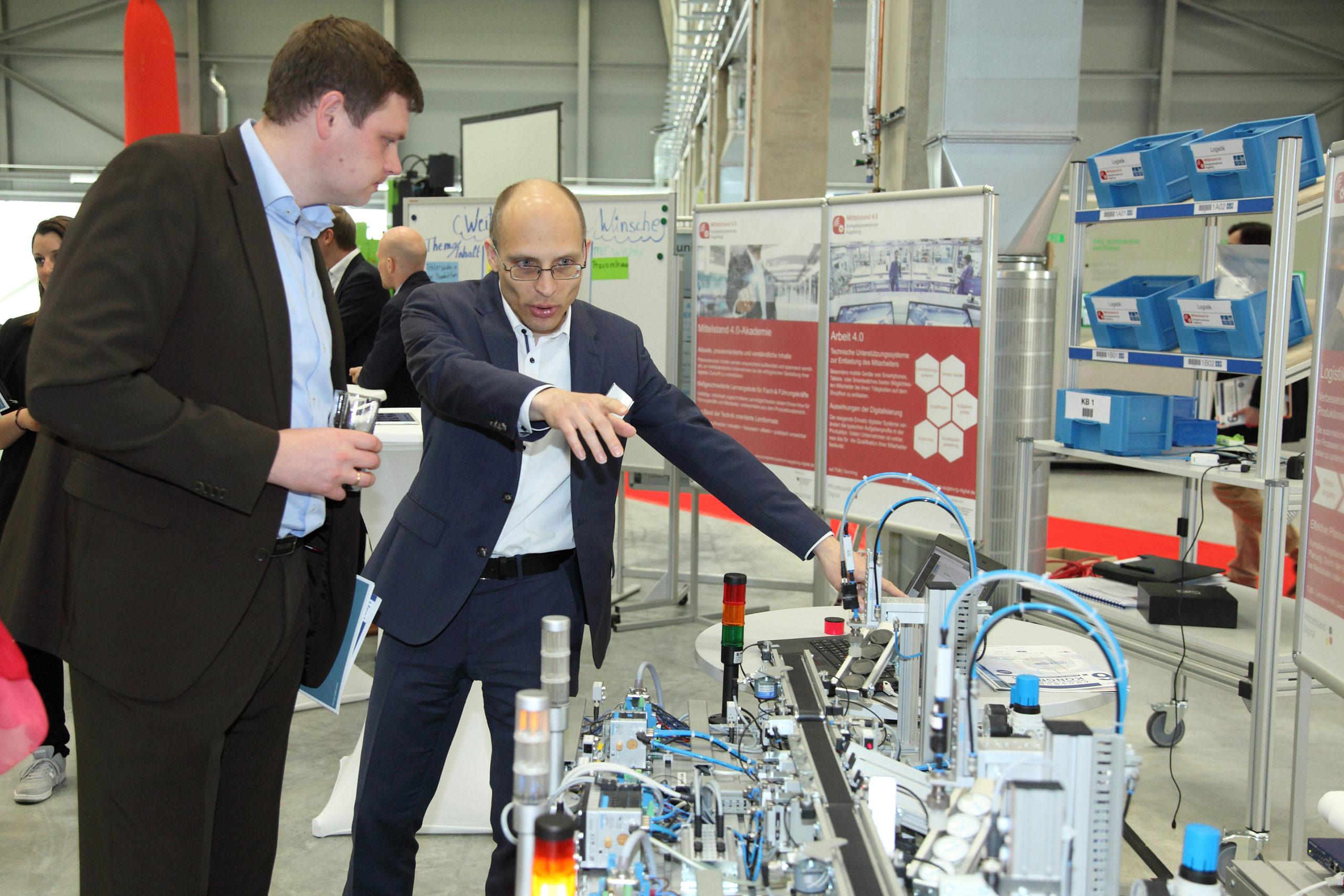 Zusammenarbeit von angewandter Forschung und Unternehmen