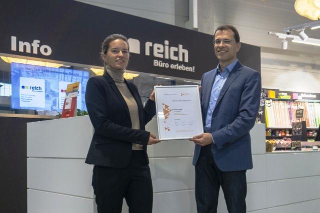 Besuch des Fördervereinsmitglieds Bürocenter Reich GmbH