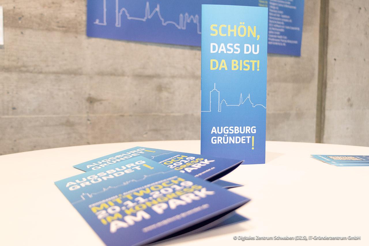 """Die Veranstaltung """"Augsburg gründet!"""" fand 2019 bereits zum dritten Mal statt."""