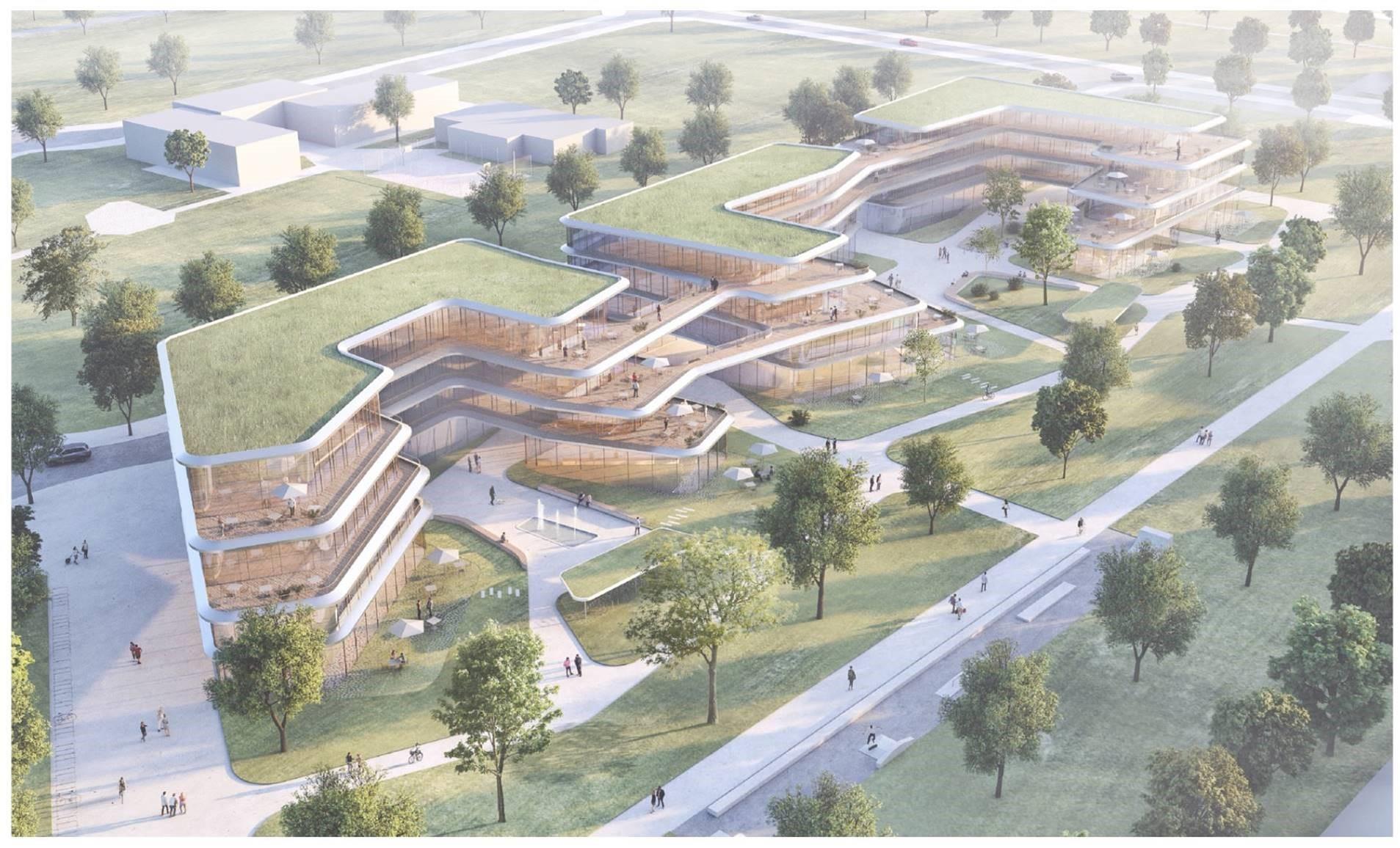 Siegerentwurf zum Sheridan Campus von Hascher Jehle Architektur