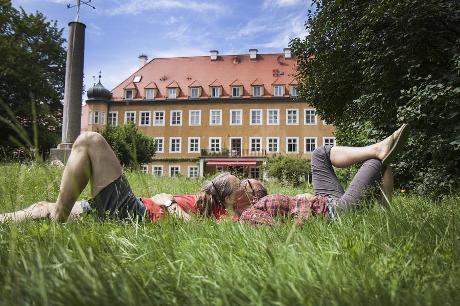 Schloss Blumenthal Sommer