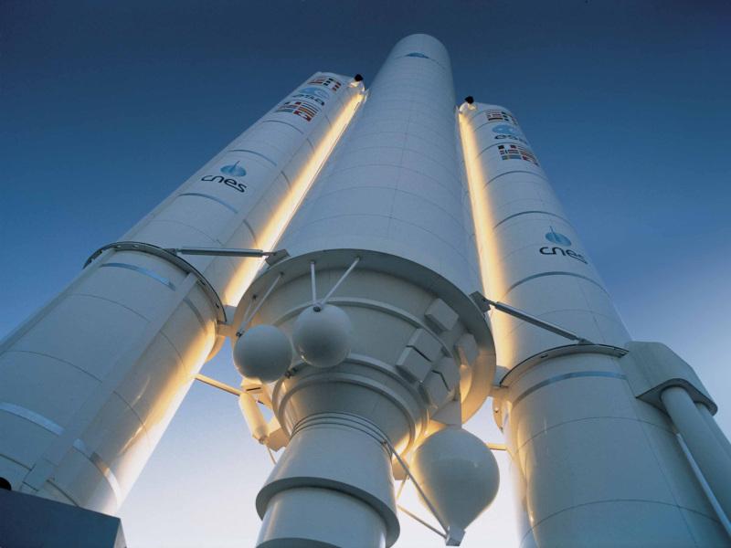 Die Trägerrakete Ariane
