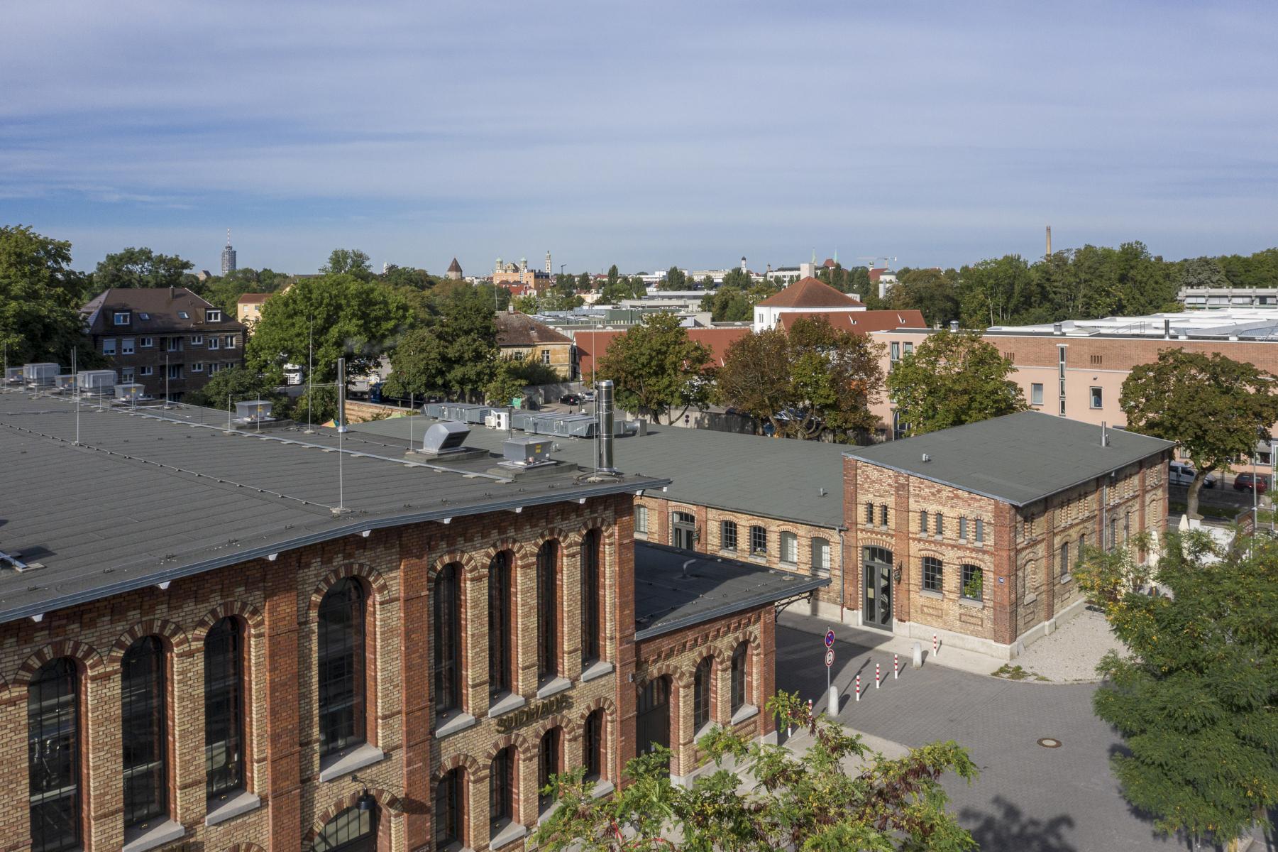 DIERIG Holding AG: Schlachthof.Quartier von oben