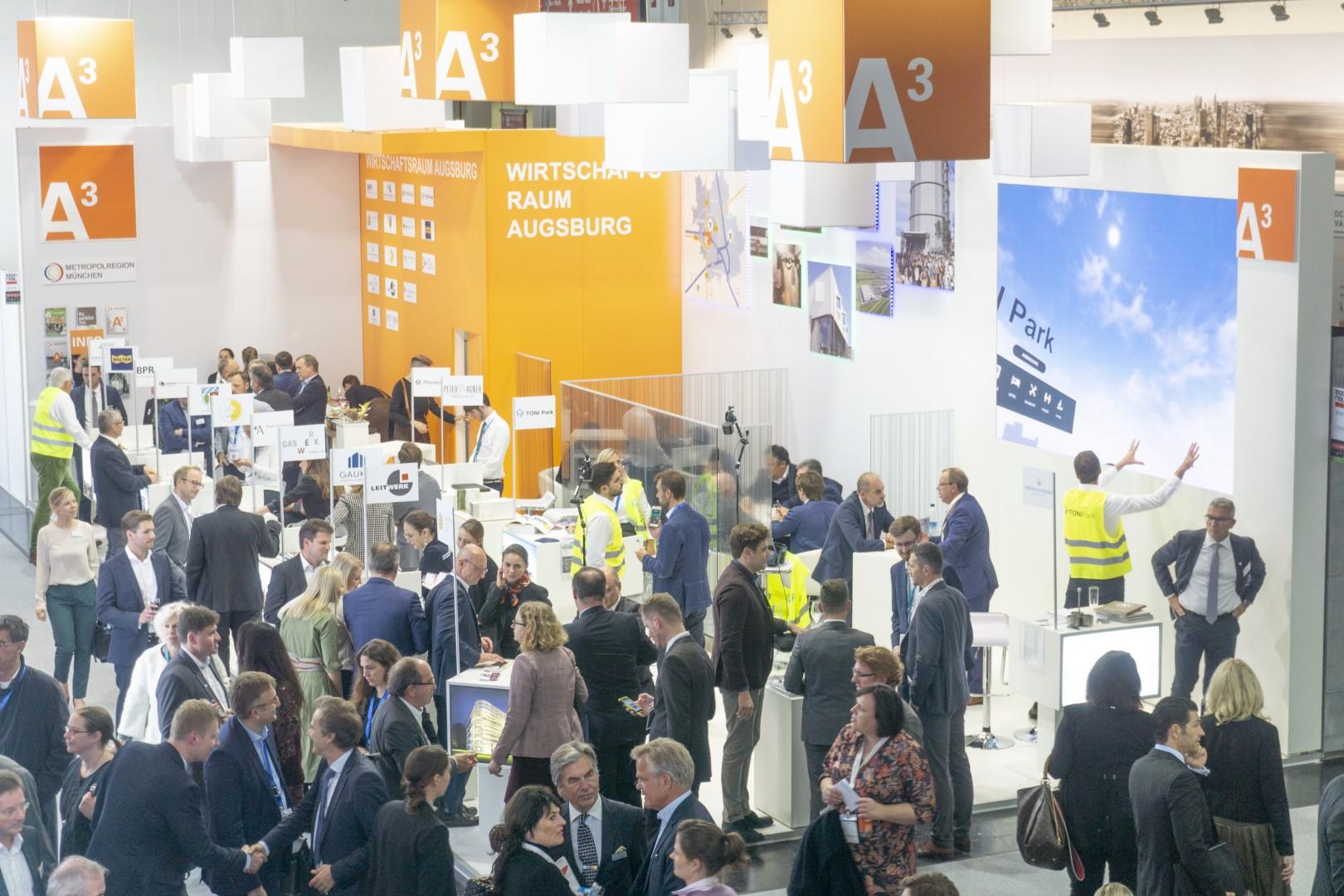 Expo Real 2019: A³ Gemeinschaftsstand