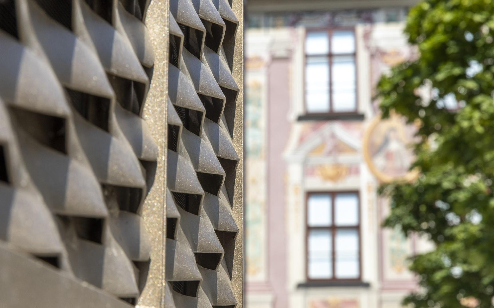 KLAUS Wohnbau GmbH: Objekt Vis-à-vis / Fassaden