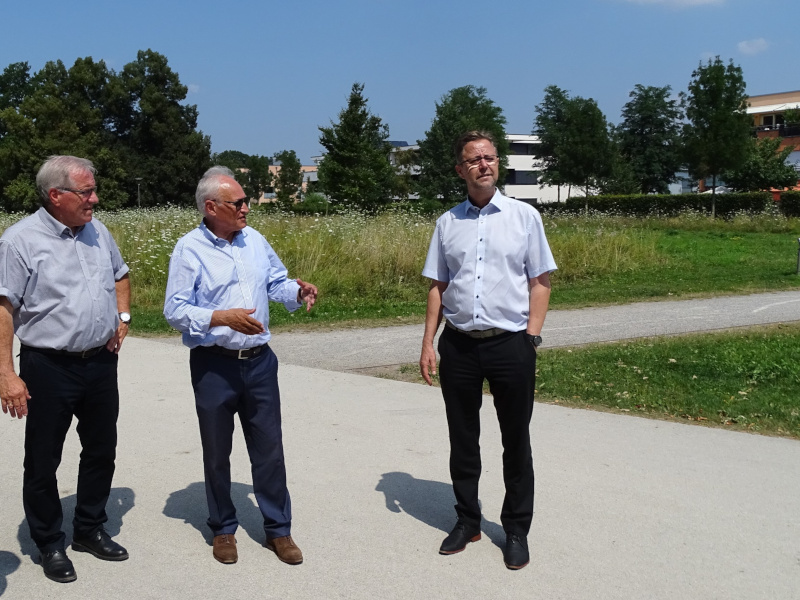 Besuch im Sheridan-Areal