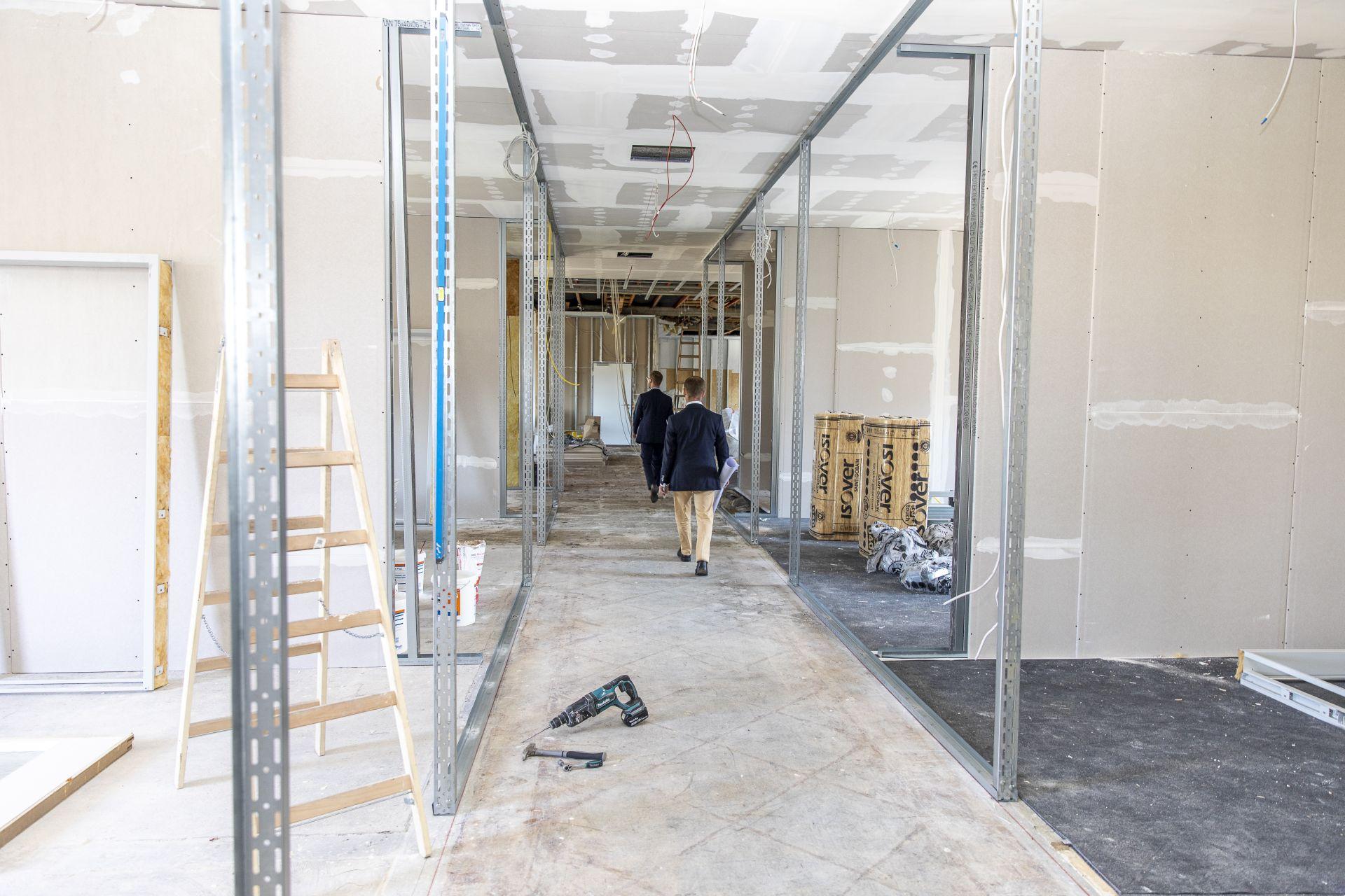 Dierig-Verwaltungsgebäude: Sanierung für die AWOVITA GmbH