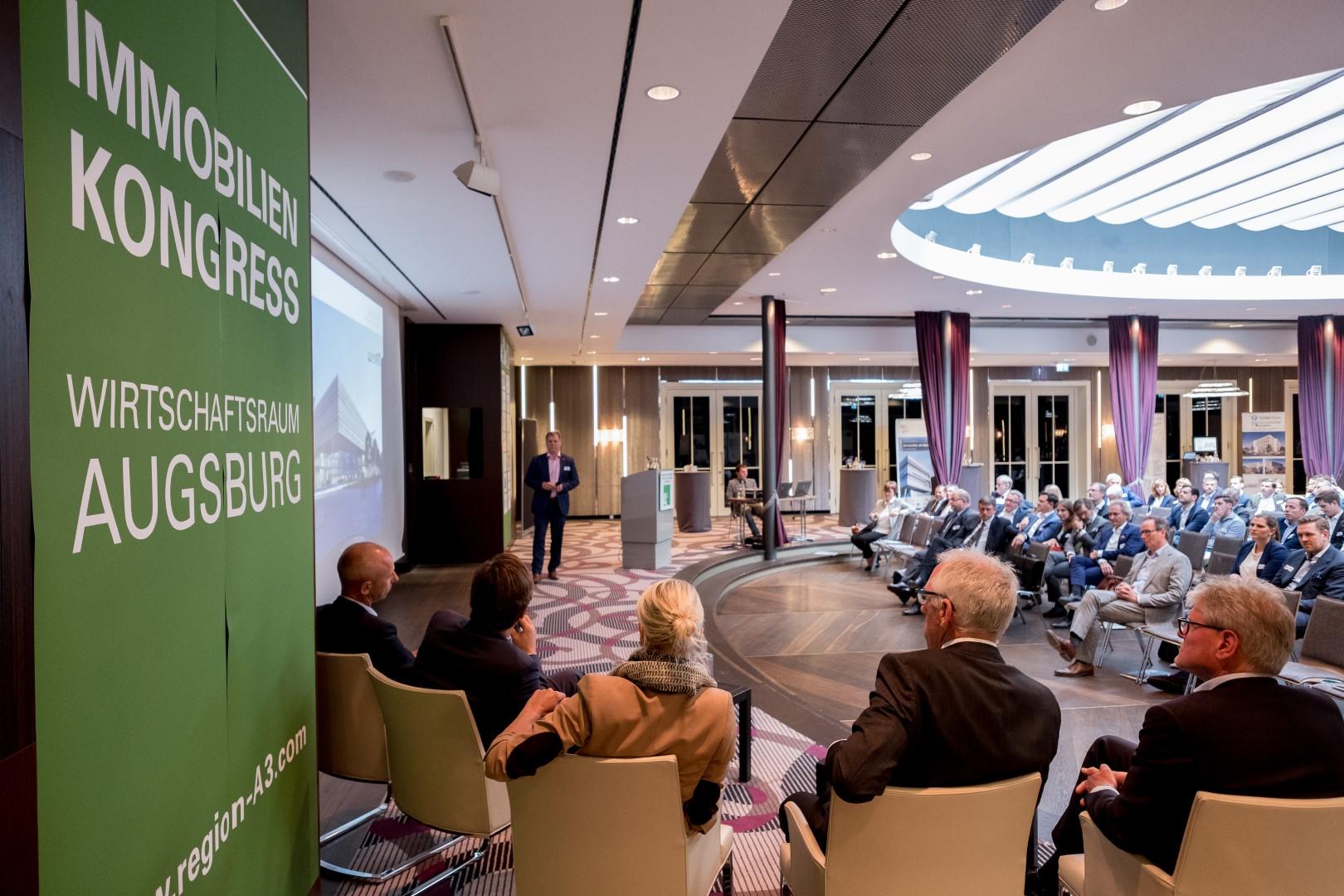 Immobilienkongress A³ 2018: Arena der Immobilienlöwen