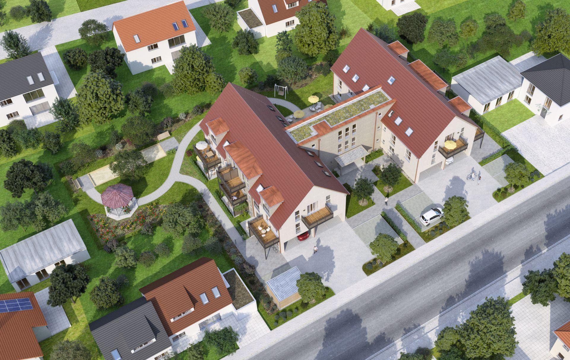 ECO Residential: Visualisierung Parkresidenz Stadtbergen