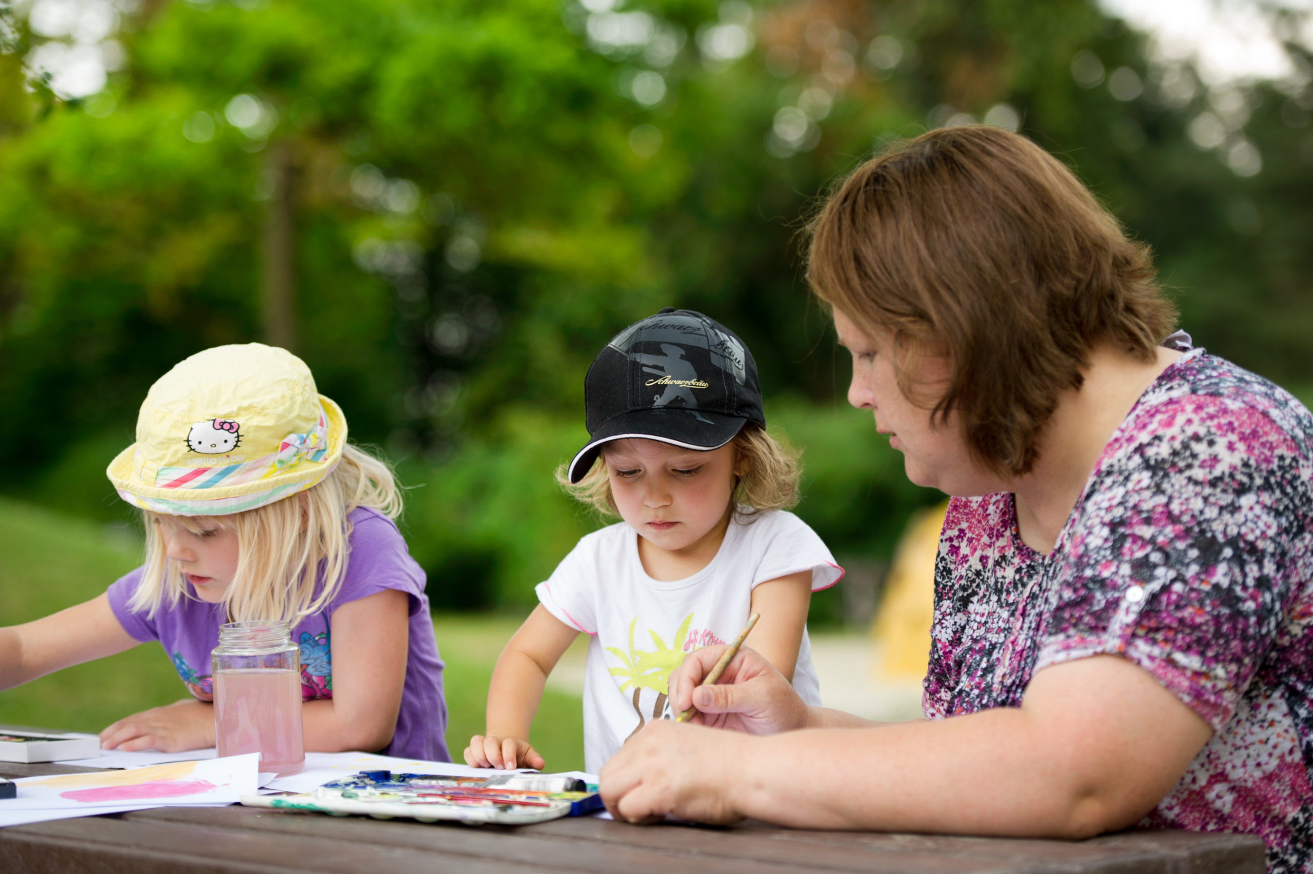 Kinderbetreuung und Schulen