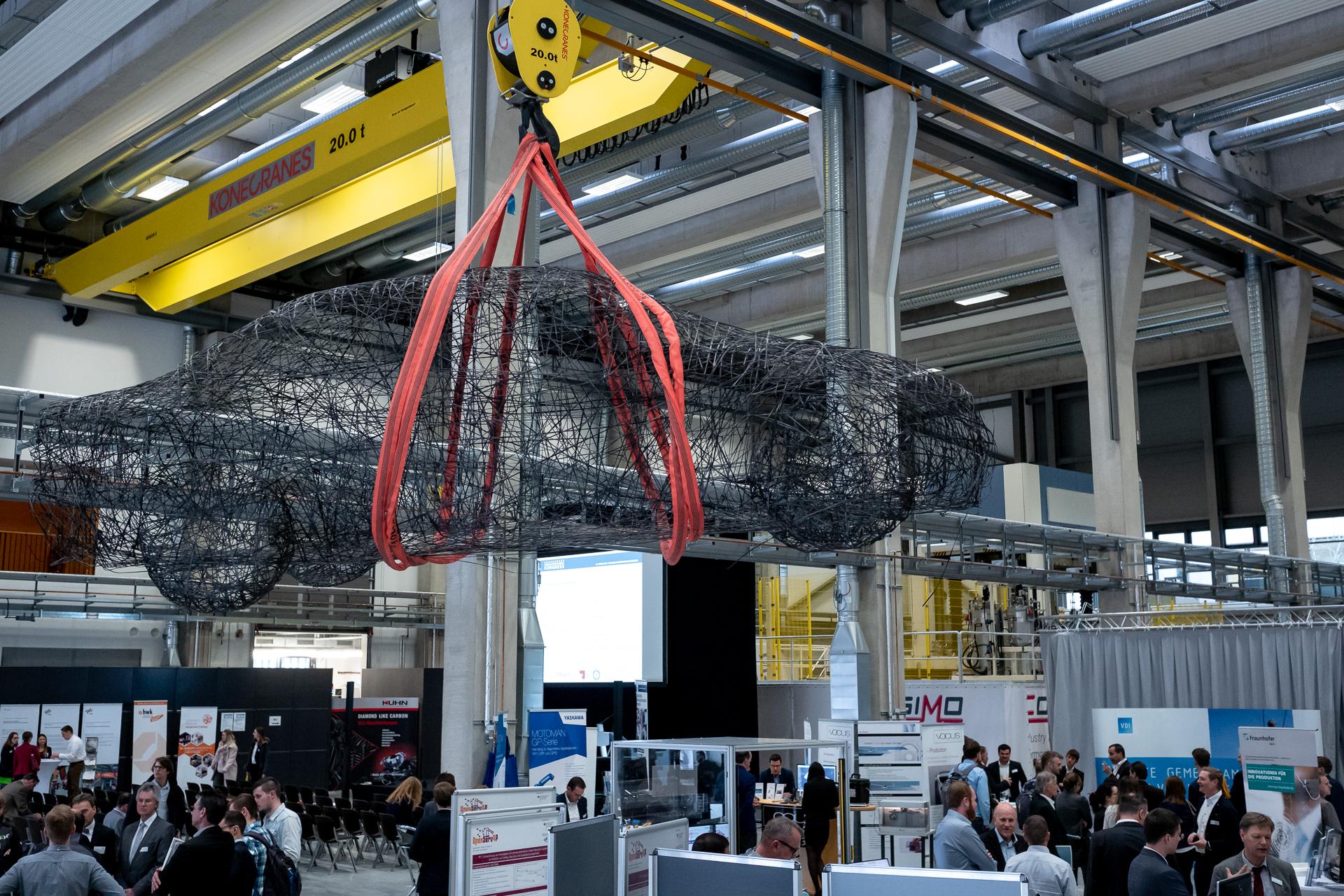 Ausstellung beim Technologietransfer-Kongress 2019