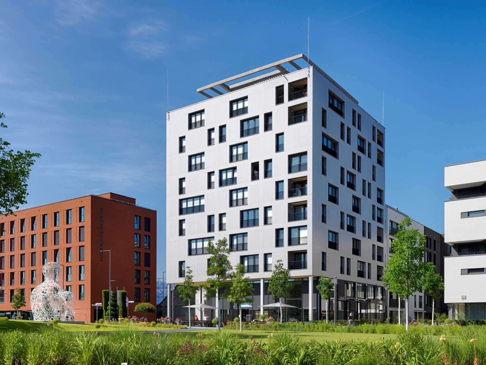 Erstes deutsches Holzhochhaus in Heilbronn