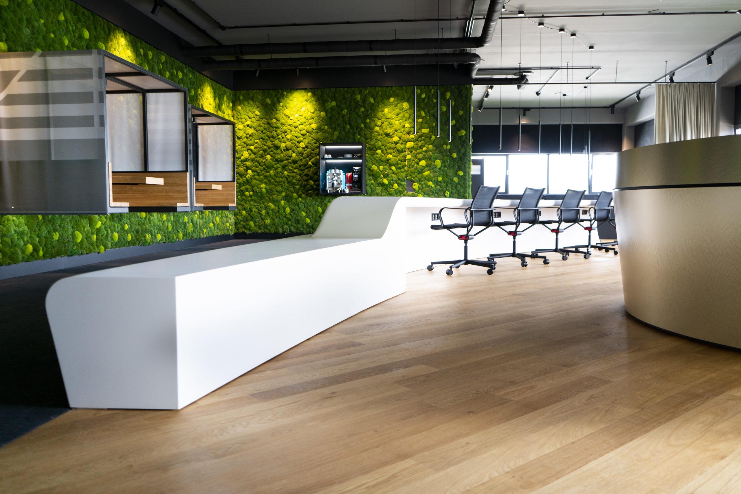 Co-working Space für das AS Lab Team und seine Startups