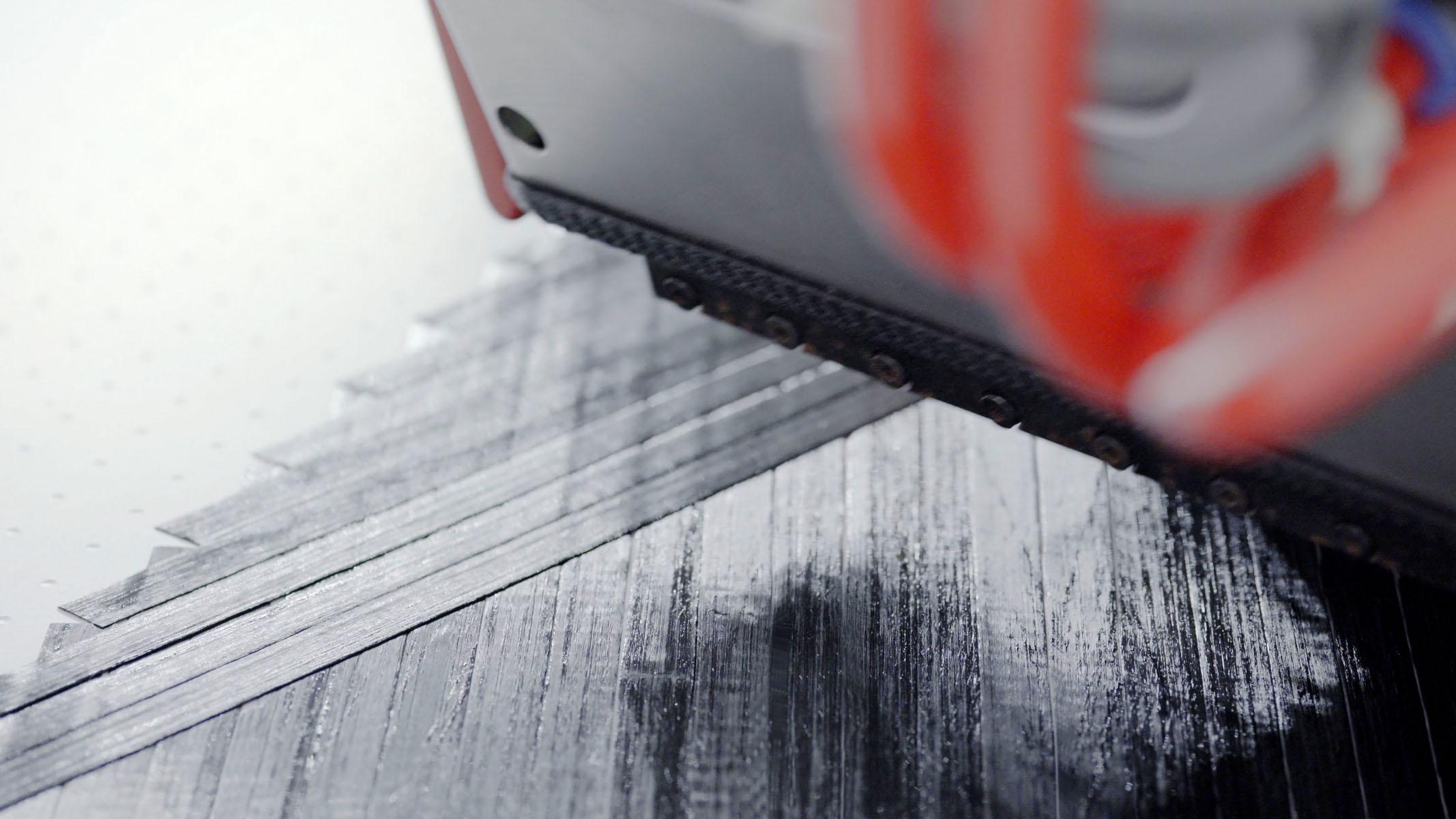 Das Fiber Placement-Verfahren eignet sich besonders für die Serienfertigung