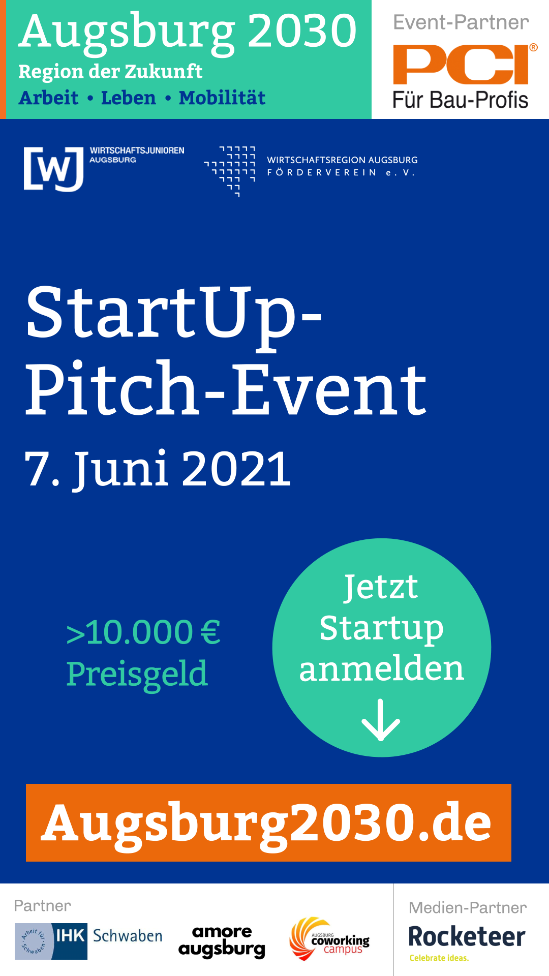 Pitch-Wettbewerb Augsburg 2030