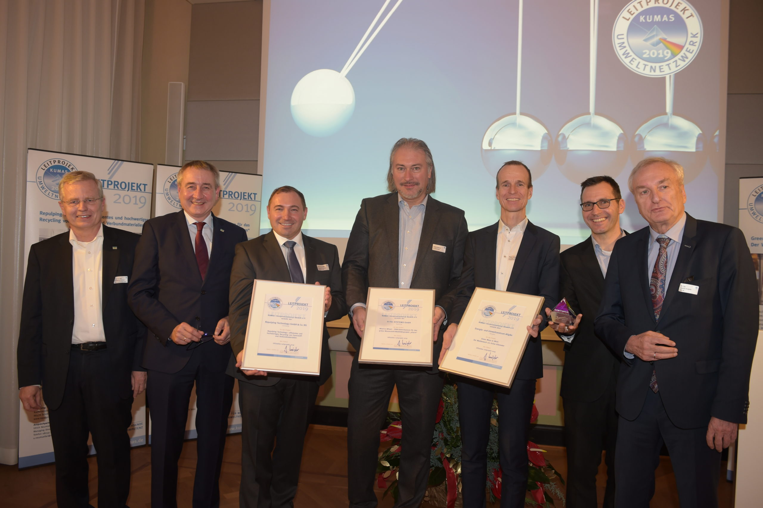 KUMAS Auszeichnung Leitprojekte 2019