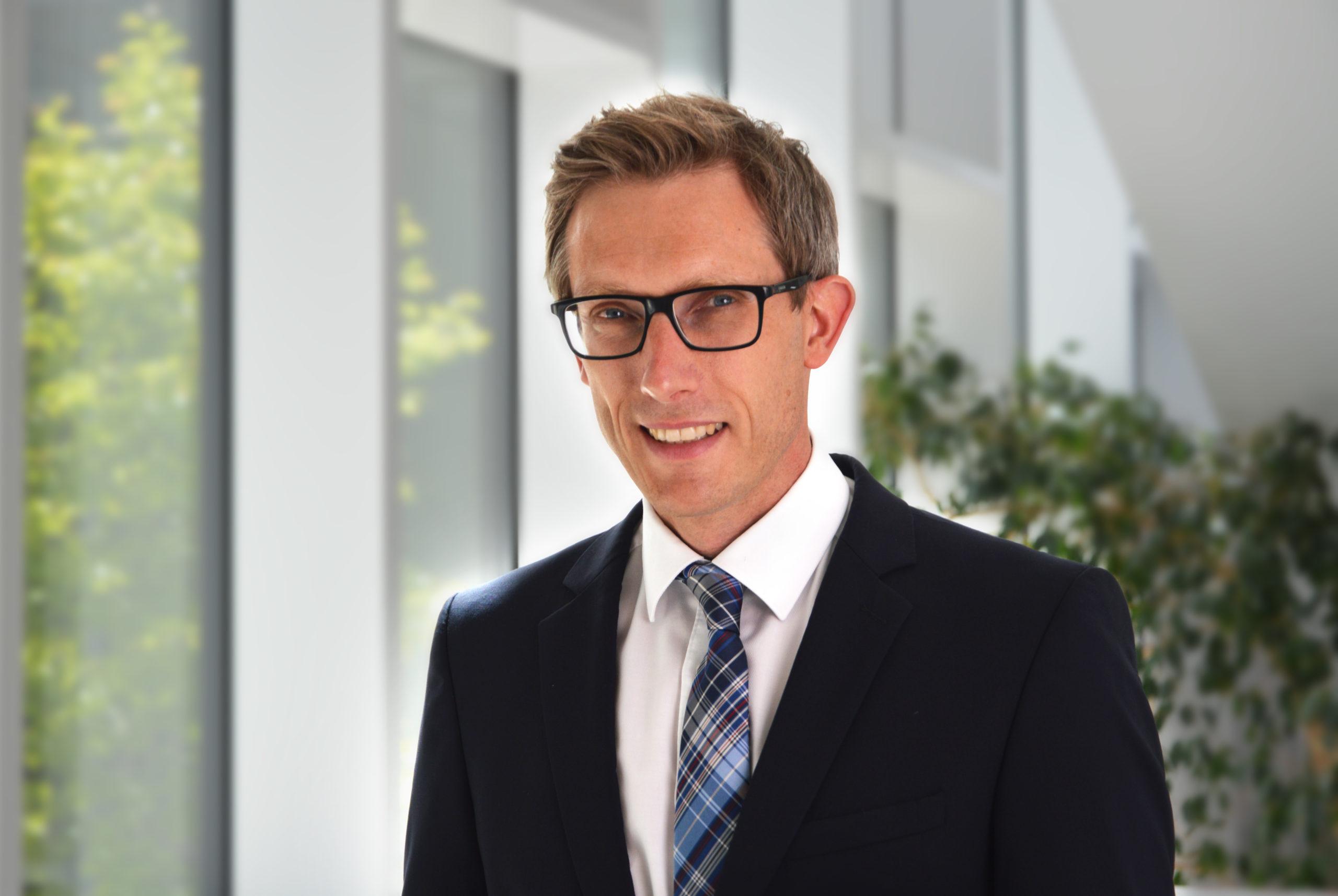 Der neue Institutsleiter des Fraunhofer IGCV: Prof. Dr.-Ing. Rüdiger Daub