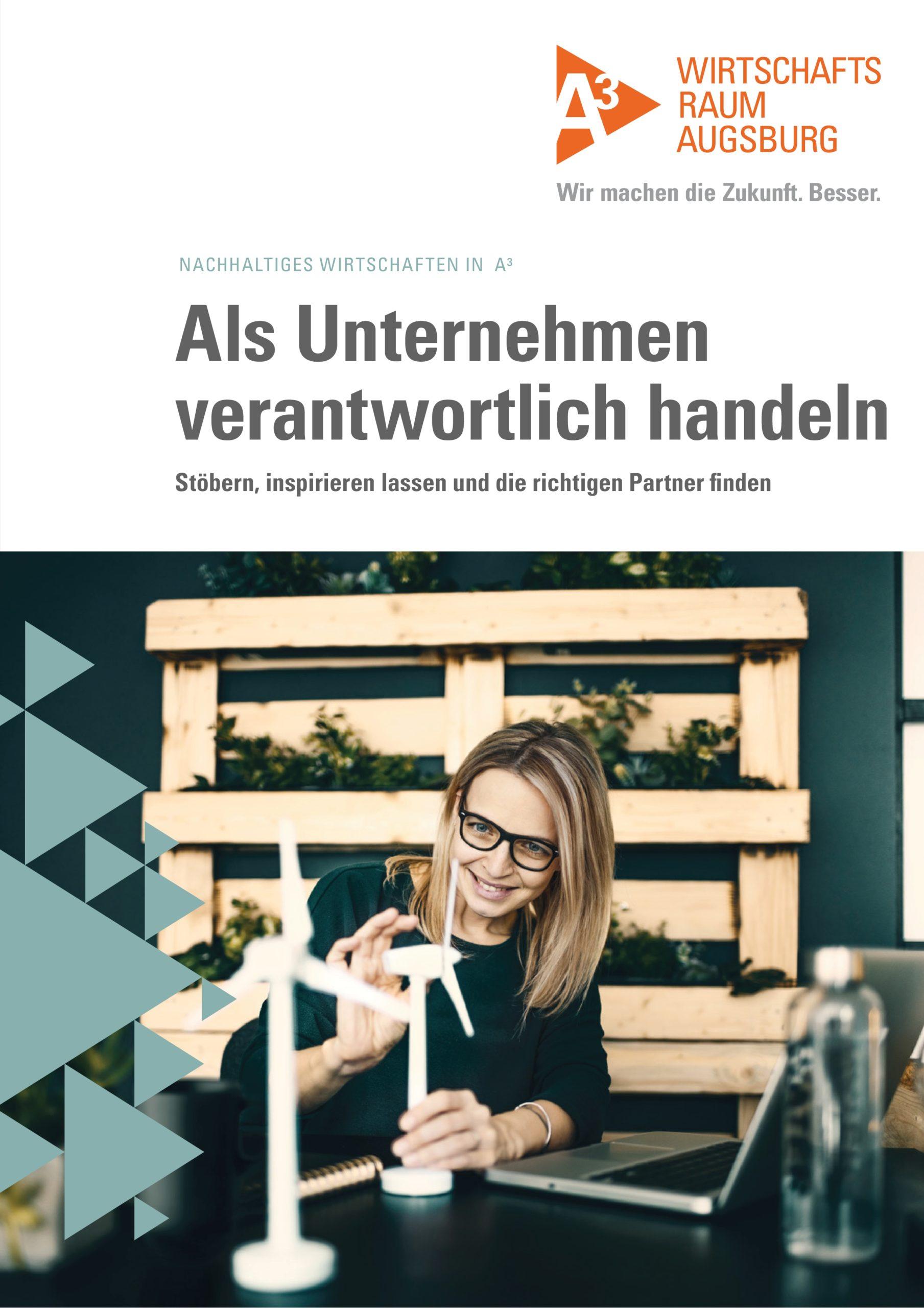 Broschüre Nachhaltiges Wirtschaften Titelbild