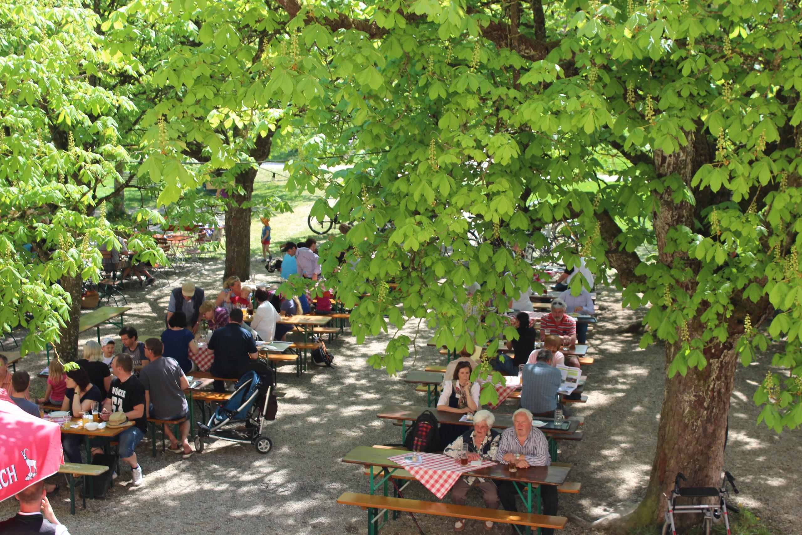 Biergarten Schloss Blumenthal