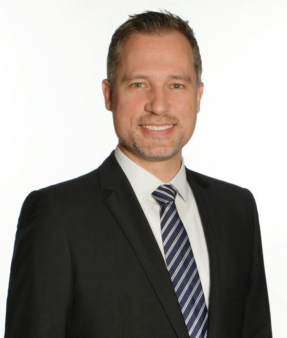 Sebastian Bögel, Senior Team Leader Industrial Leasing Süd.