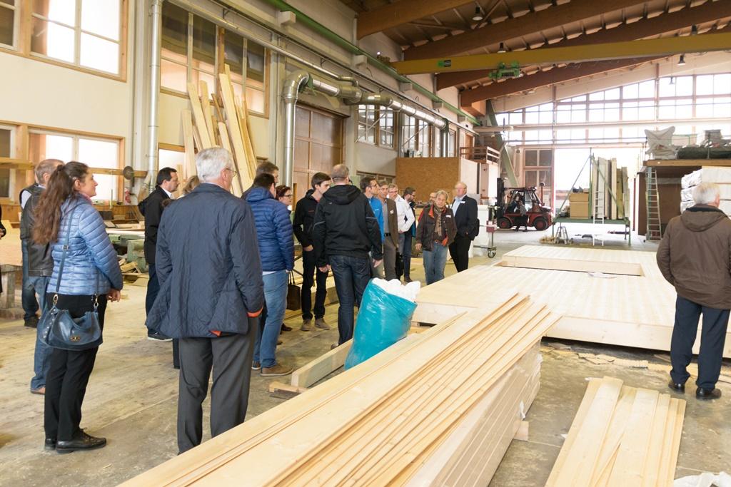 Architektur trifft Holz bei Aumann
