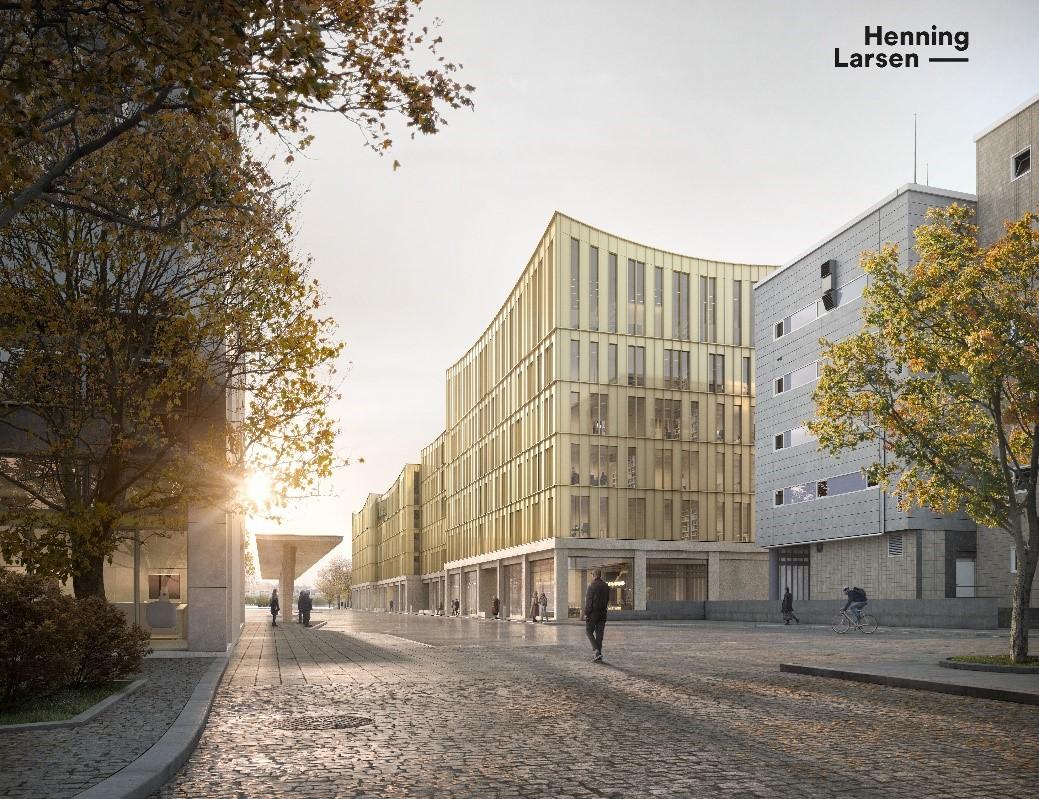 Neuer Bürokomplex am HBF (innerer Ladehof)