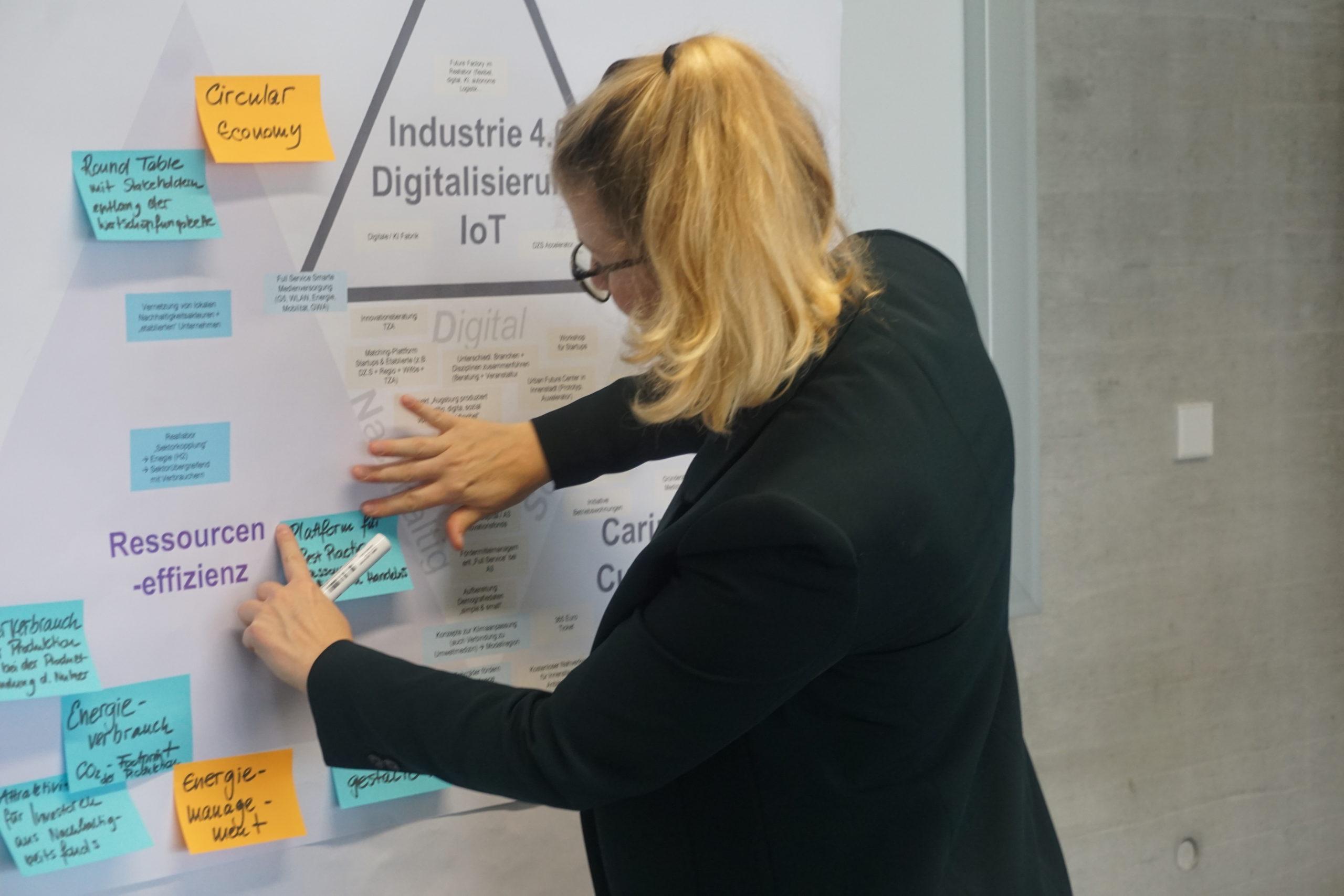 Symbolbild: Es wurden zahlreiche regionale Akteure in die Erarbeitung der Zukunftsstrategie Wirtschaftsraum Augsburg A³ 2030 eingebunden.