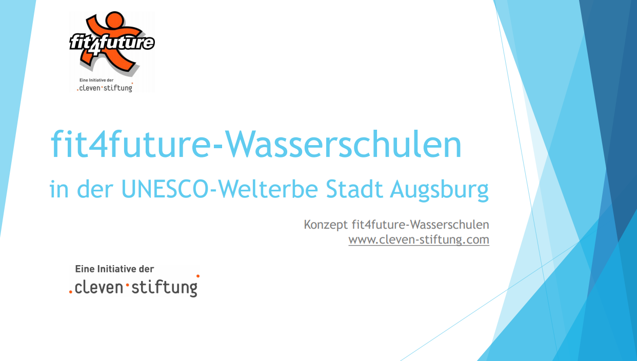 fit4future-Wasserschulen: