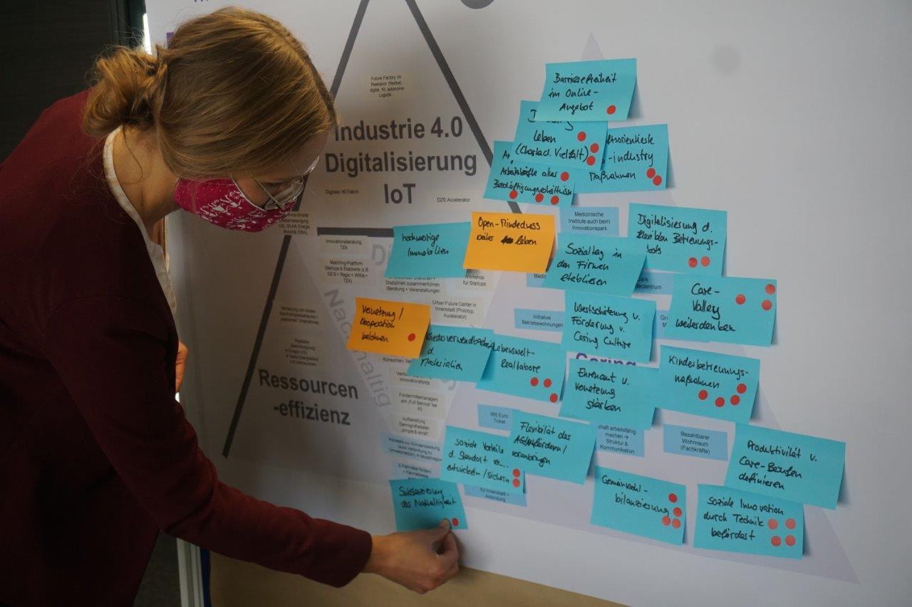 Symbolbild – im Rahmen von Interviews, Online-Befragungen, Workshops und Think Tanks wurden zahlreiche regionale Akteure in die Erarbeitung der Zukunftsstrategie Wirtschaftsraum Augsburg A³ 2030 eingebunden.