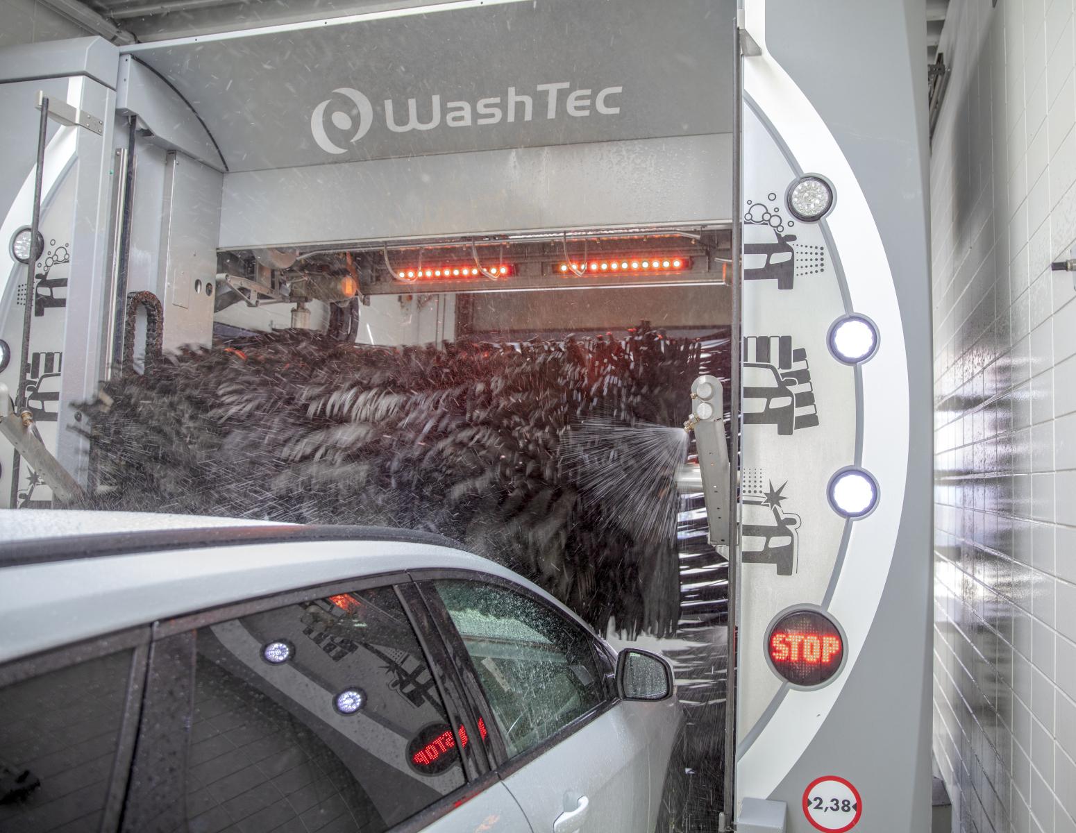 WashTec AG Augsburg – Innovationsführer im Bereich der Autowaschtechnik