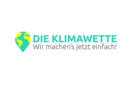 Die Klimawette – Logo
