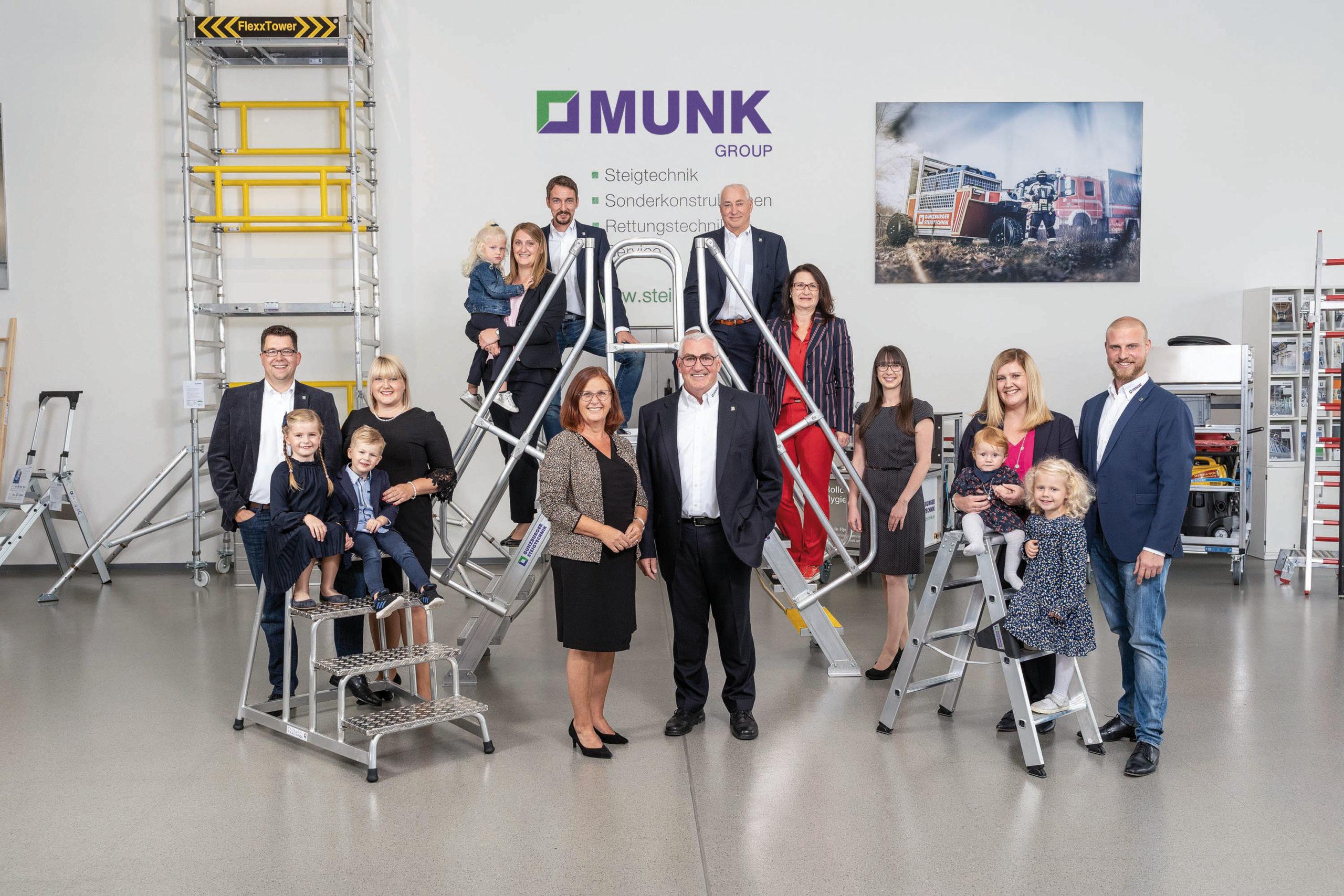 Günzburger Steigtechnik: Unternehmerfamilie Munk