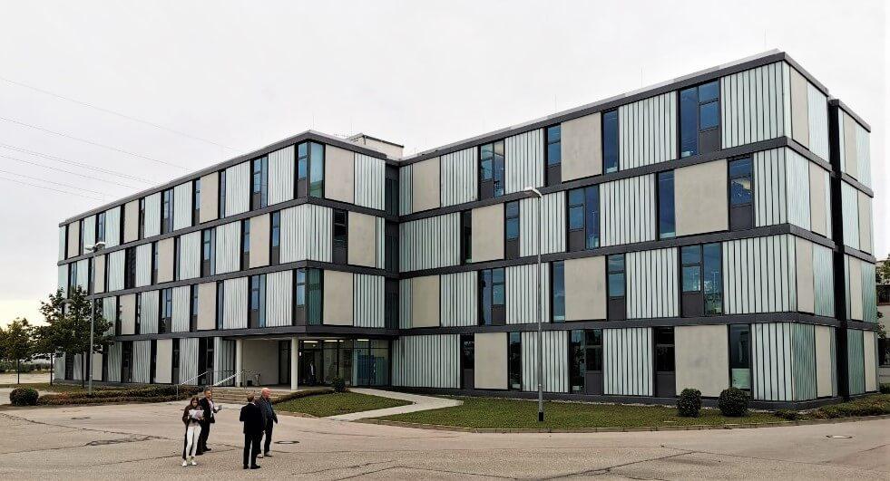 Gebäude 31 im WALTER Technology Campus Augsburg wird der neue Standort der B2B-Direktbank ebase.