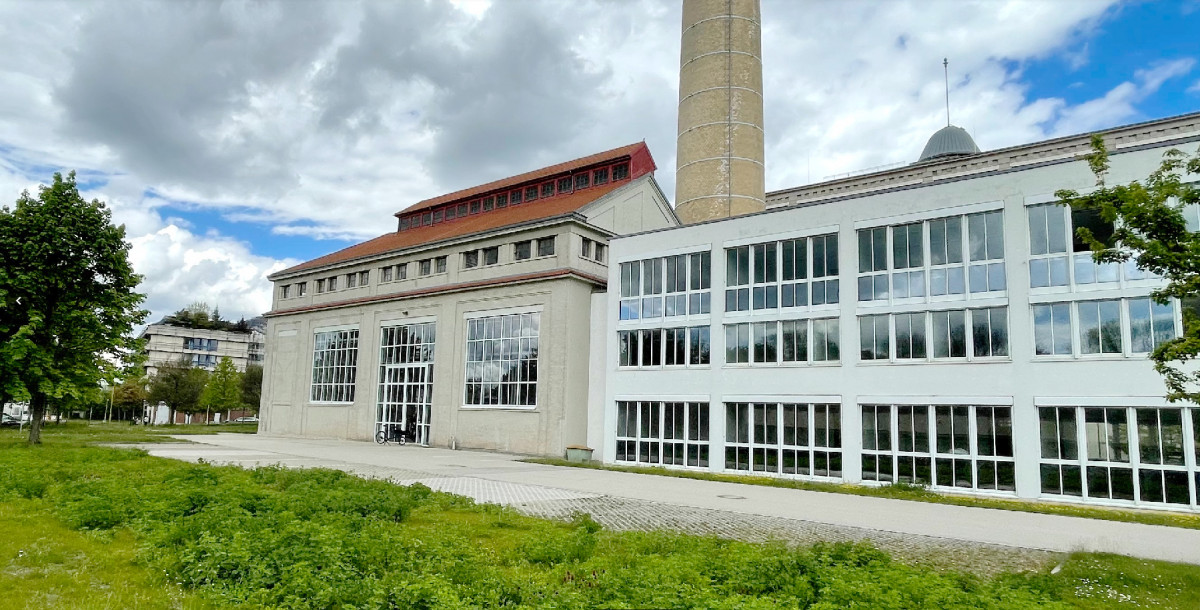 Das Habitat Augsburg ist ins ehemalige Kesselhaus am Glaspalast gezogen.